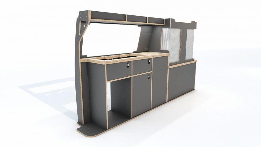 DIY Birch Ply Furniture Kit for VW T6